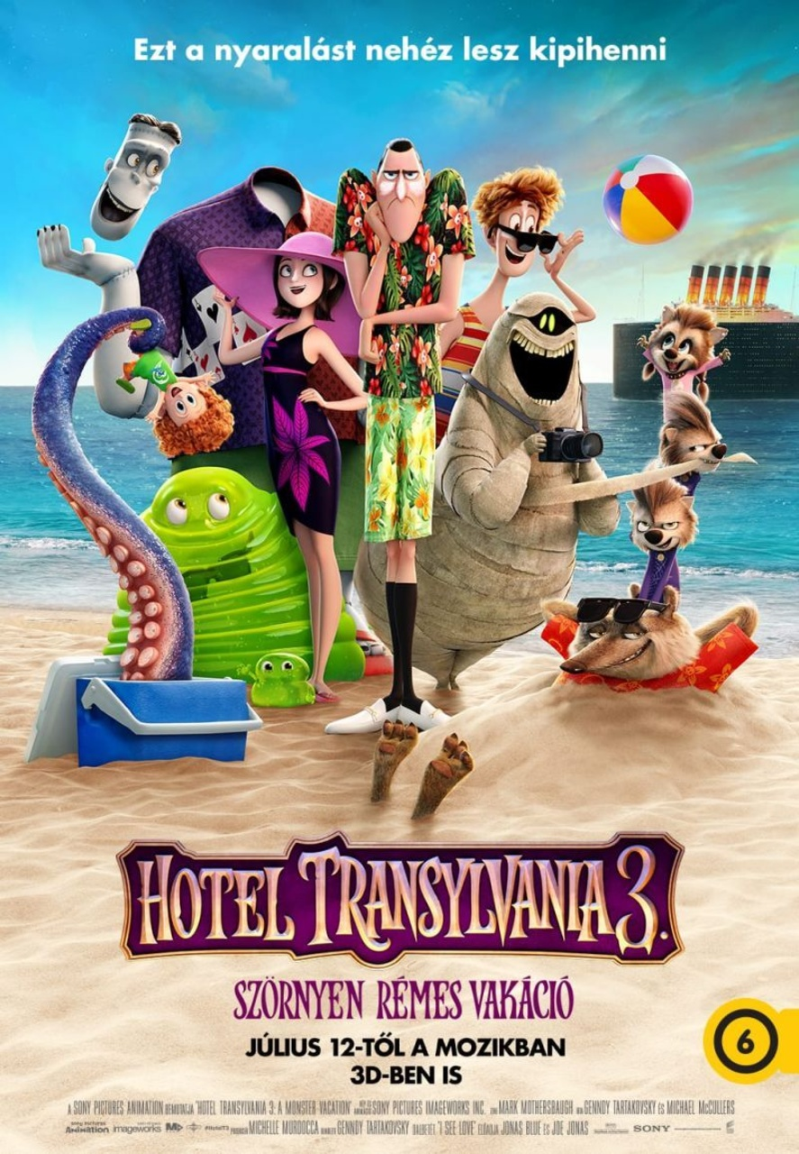 hotel transylvania idézetek Hotel Transylvania 3. – Szörnyen rémes vakáció · Film · Snitt